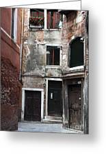 Doors Of All Sizes Greeting Card by John Rizzuto