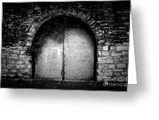 Doors To The Other Side Greeting Card by Trish Mistric