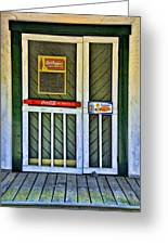 Doorway To The Past Greeting Card by Kenny Francis