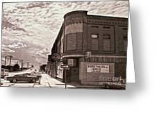 Dorthea's Corner Lounge Greeting Card by Gregory Dyer