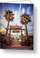 Dory Fishing Fleet Market Picture Newport Beach Greeting Card by Paul Velgos