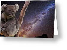 Down Under Greeting Card by Charles Warren