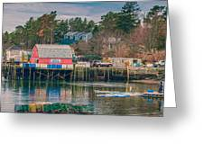 Downeast Greeting Card by Guy Whiteley