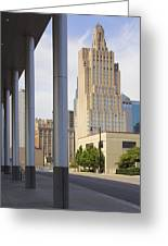 Downtown Kansas City Greeting Card by Mike McGlothlen