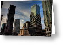 Downtown Los Angeles 005 Greeting Card by Lance Vaughn