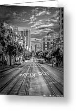 Downtown San Francisco II Greeting Card by Erik Brede