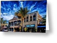 Downtown Ventura Greeting Card by Mountain Dreams