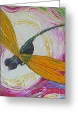 Dragonfly Greeting Card by Paris Wyatt Llanso