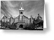 Drake University Old Main Greeting Card by University Icons