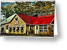 Drake's Inn On Seventh Lake Greeting Card by David Patterson