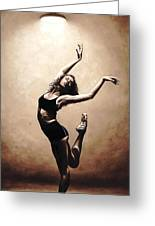 Dramatic Eclecticism Greeting Card by Richard Young