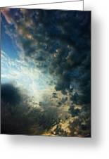 Dramatic Morning Greeting Card by Dale Jackson