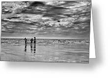 Dramatic Seascape Greeting Card by Jay Harrison