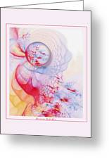 Dream Catcher Greeting Card by Gayle Odsather