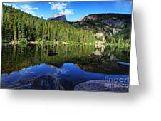 Dream Lake Rocky Mountain National Park Greeting Card by Wayne Moran