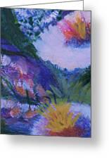 Dream Of Spring Greeting Card by Anne-Elizabeth Whiteway