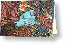 Dream Greeting Card by Vera Tour