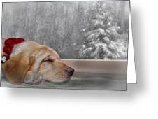 Dreamin' Of A White Christmas 2 Greeting Card by Lori Deiter