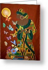 Dreaming Butterflies Greeting Card by Linda Egland