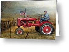 Dreams Of Yesteryear Greeting Card by Betty LaRue
