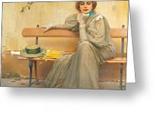 Dreams  Greeting Card by Vittorio Matteo Corcos