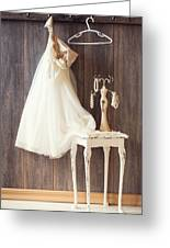 Dress Greeting Card by Amanda And Christopher Elwell