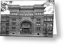 Drexel University Main Building Greeting Card by University Icons
