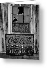 Drink Coca-cola Greeting Card by Randy Bayne