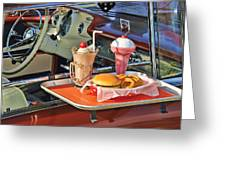 Drive-in Memories Greeting Card by Kenny Francis