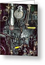 Driving Steam Greeting Card by MJ Olsen