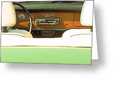 Driving With The Top Down Greeting Card by Pamela Patch