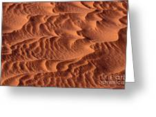 Dune Patterns - 246 Greeting Card by Paul W Faust -  Impressions of Light