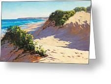 Dunes Central Coast Greeting Card by Graham Gercken