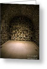 Dungeon Greeting Card by Edward Fielding
