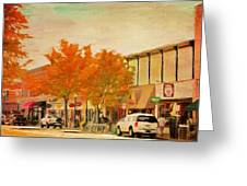 Durango Autumn Greeting Card by Jeff Kolker