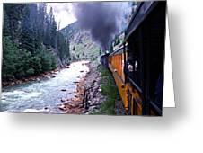 Durango To Silverton Greeting Card by Kume Bryant