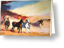 Dust In The Wind Greeting Card by Judy Kay