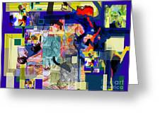 Each Positive Step Is Vital Greeting Card by David Baruch Wolk
