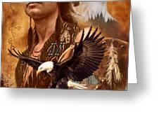 Eagle Montage Greeting Card by Garry Walton