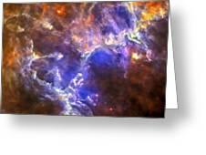 Eagle Nebula Greeting Card by Adam Romanowicz