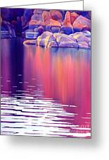 Early Light Greeting Card by Robert Hooper
