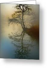 Early Morning Greeting Card by manhART