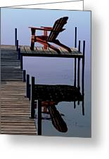 Early Morning Peace Greeting Card by Kathleen Scanlan