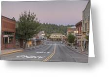 Early Morning Placerville Greeting Card by Steve Barr