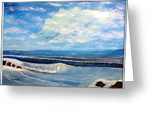 Early Morning Surf Greeting Card by Joyce Krenson