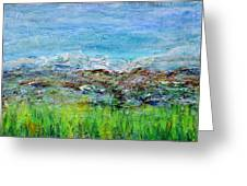 Early Spring Range Greeting Card by Regina Valluzzi