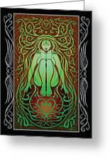 Earth Spirit V.2 Greeting Card by Cristina McAllister