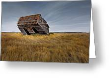East Montana Texture Greeting Card by Leland D Howard