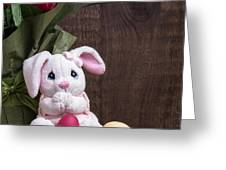 Easter Bunny Greeting Card by Edward Fielding