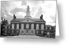Eastern Kentucky University Keen Johnson Building Greeting Card by University Icons